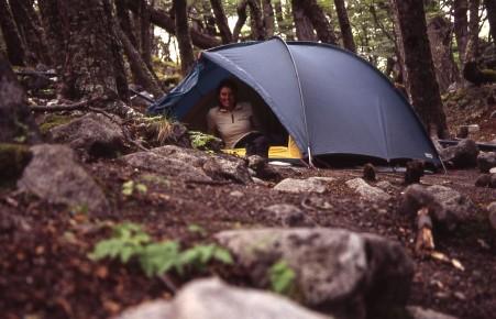 Sehr einfacher Campingplatz