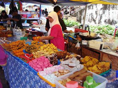 Am Markt von Serian